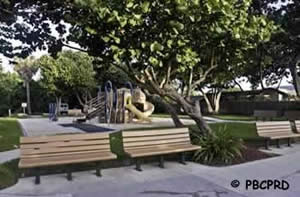playground at gulf stream park