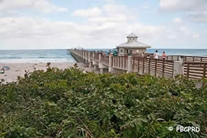 fishing pier at juno beach florida