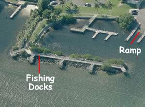 boat club park fishing docks