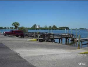 saltwater boat ramp in holiday florida pasco county