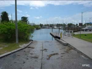 robert strickland boat ramp hudson florida