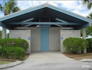 restrooms at robert strickland memorial park hudson florida
