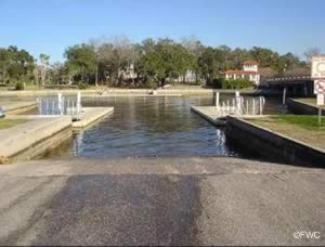 sims boat ramp new port richey florida