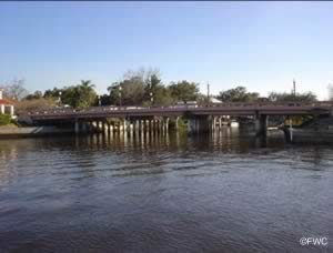 bridge near sims boat ramp new port richey florida