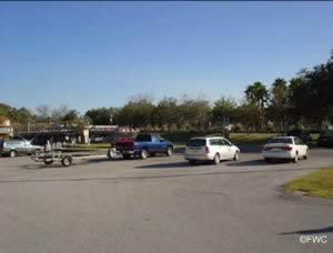 parking for boat trailers at sims park ramp