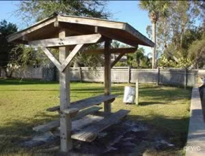 picnic near the water at sims park new port richey