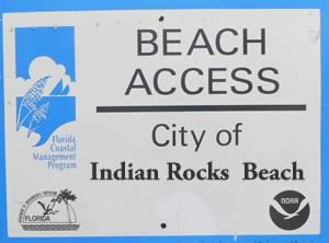 indian rocks beach accesses
