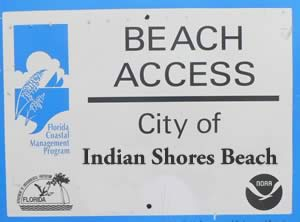 indian shoes beach accesses