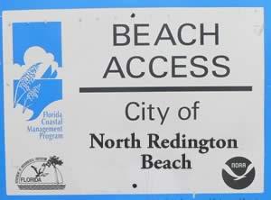 north redington beach accesses