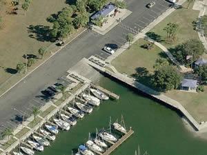 safety harbor marina park boat ramp