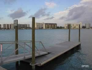launch docks at clearwater beach rec center ramp