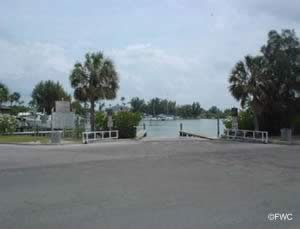 Boat launch at don cesar pinellas county florida