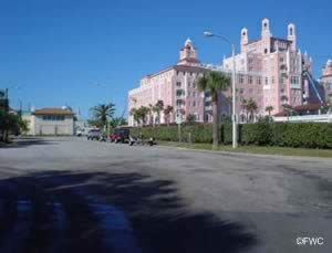 Boat launch parking at don cesar pinellas county florida