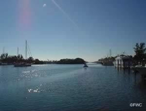 water view of don cesar boat ramp in pinellas county