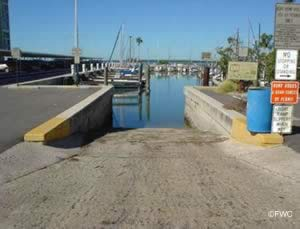 public boat ramp in dunedin florida
