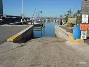 public boat ramp in dunedin florida