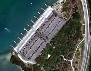 fort desoto ramp aerial