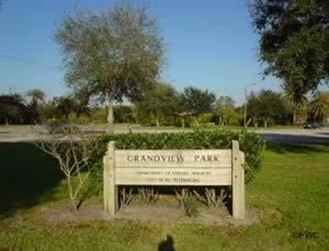 sign at the grandview / coquina key boat ramp