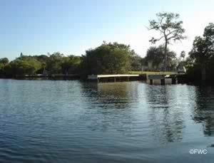 water view at grandview boat ramp