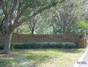 entrance to philippi park florida