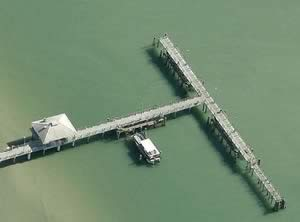 Fishing piers st petersburg pinellas county for Fort desoto fishing pier