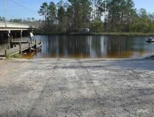 east river boat ramp gulf breeze florida