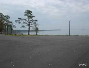 parking at floridatown boat ramp pace florida