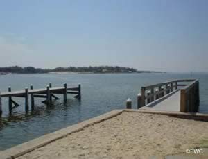 easy access saltwater boat ramp near pensacola
