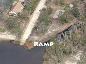 mae lane boat ramp east milton, florida