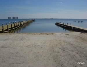 oriole beach boat ramp on santa rosa sound gulf breeze florida