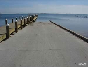 woodlawn beach santa rosa sound boat ramp