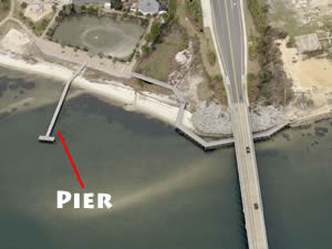 navarre park fishing pier
