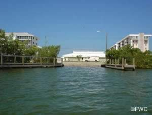 saltwater boat ramp at higel marine park venice florida