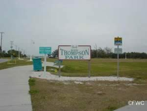 entrance to ken thompson park lido key sarasota county florida