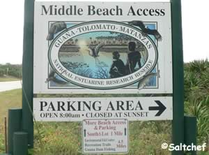 guana tolomato middle beach access