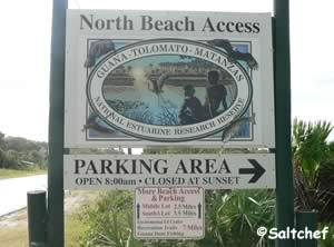 guana tolomato north beach access