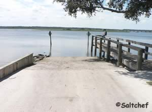 boat ramp near 206 bridge st johns county