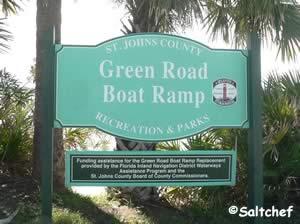 green road boat ramp crescent beach florida
