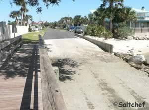 launch into icw crescent beach florida