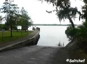 boat launching ramp on palmo road florida
