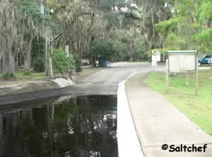 view of palmo road boat ramp on st johns near world golf village