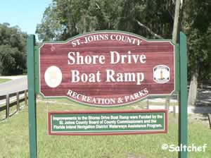 shore drive boat ramp st augustine florida