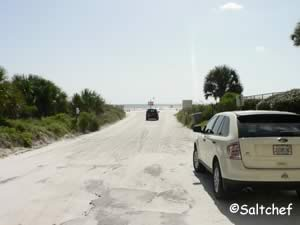 dondanville road drive on beach access florida