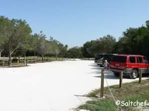 parking at ocean hammock park st augustine beach