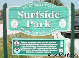 surfside park sign