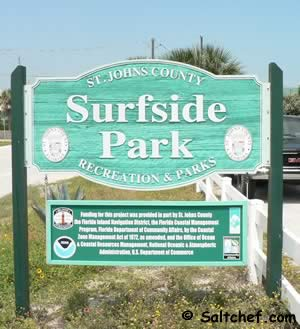 surfside park vilano beach florida
