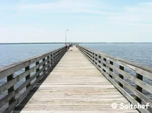 shands pier on st johns river