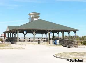 rentable pavilion at st johns county pier in st augustine beach