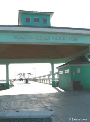 vilano beach fishing pier