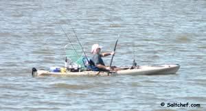 kayaking guana
